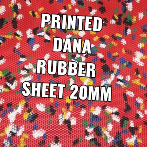 20 mm Printed Rubber Sheet