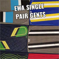 Mens EWA Single Pair Slipper Sheet