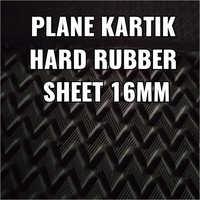 16mm Plane Hard Rubber Sole Sheet
