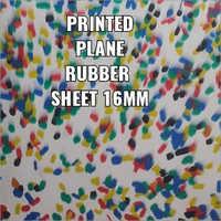 16mm Printed Plane Rubber Sheet