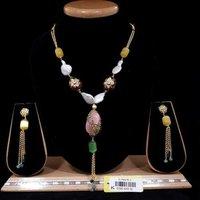 Multi Color Beads Mala Set