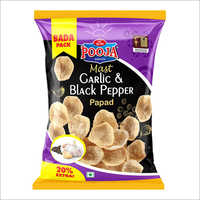 Mast Garlic And Black Pepper Papad