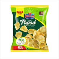 Cream And Onion Flavour Papad
