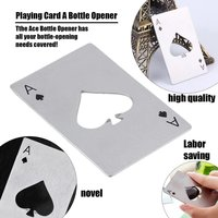 Stailess Steel Card Opener