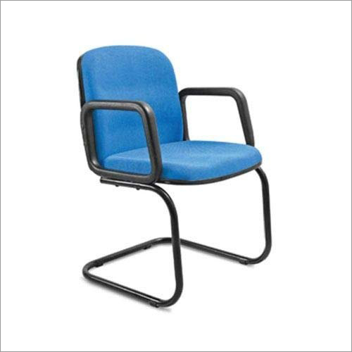 Stainless Steel Base Frame  Office Visitor Chair