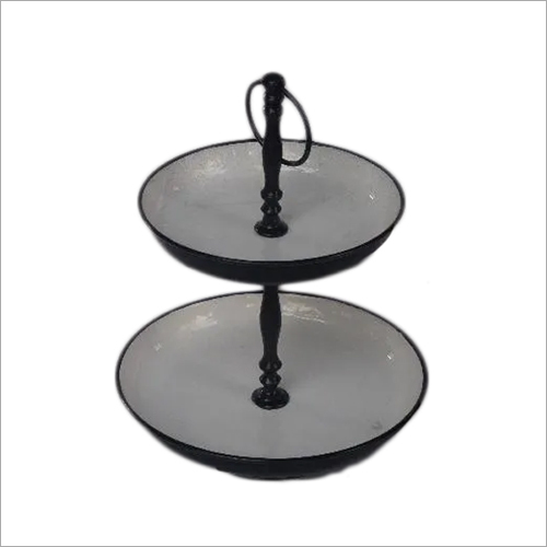 Enamel Metal Cake Stands