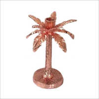 J36804 Date Tree Metal Candle Holder