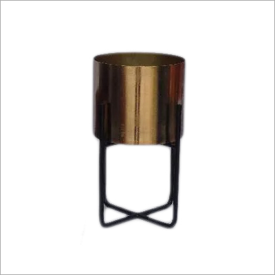 13X15.5 CM  Metal Flower Vase With Stand