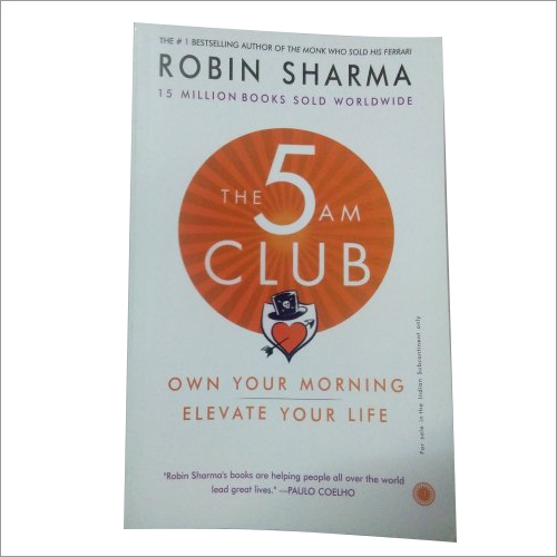 Robin Sharma The 5am Club Book