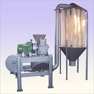 Micro Pulverizer With Blower System