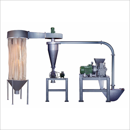 Shubh Micro Pulverizer With Dust Control Pneumatic Plant