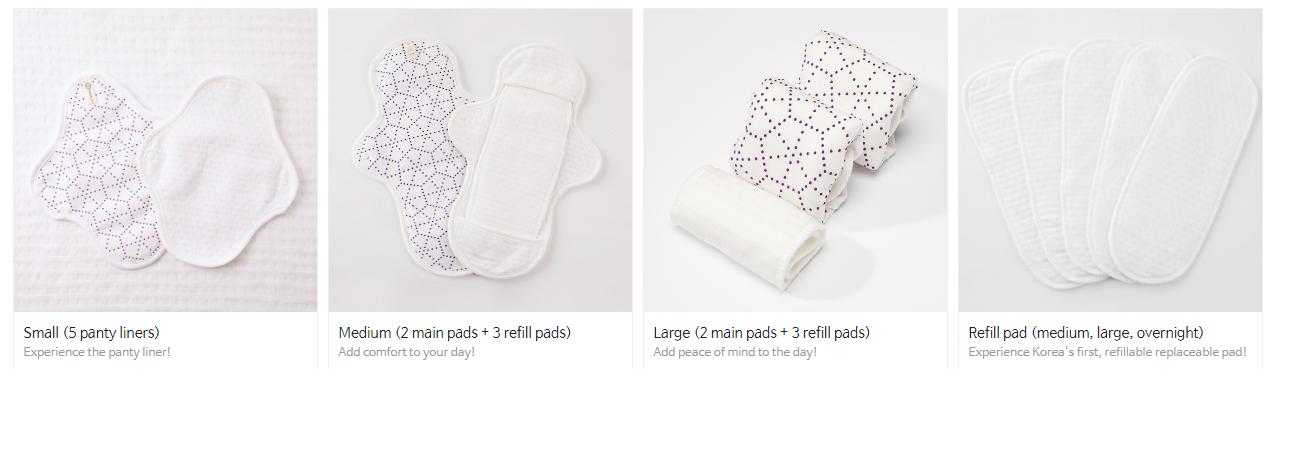 bamboo sanitary pad