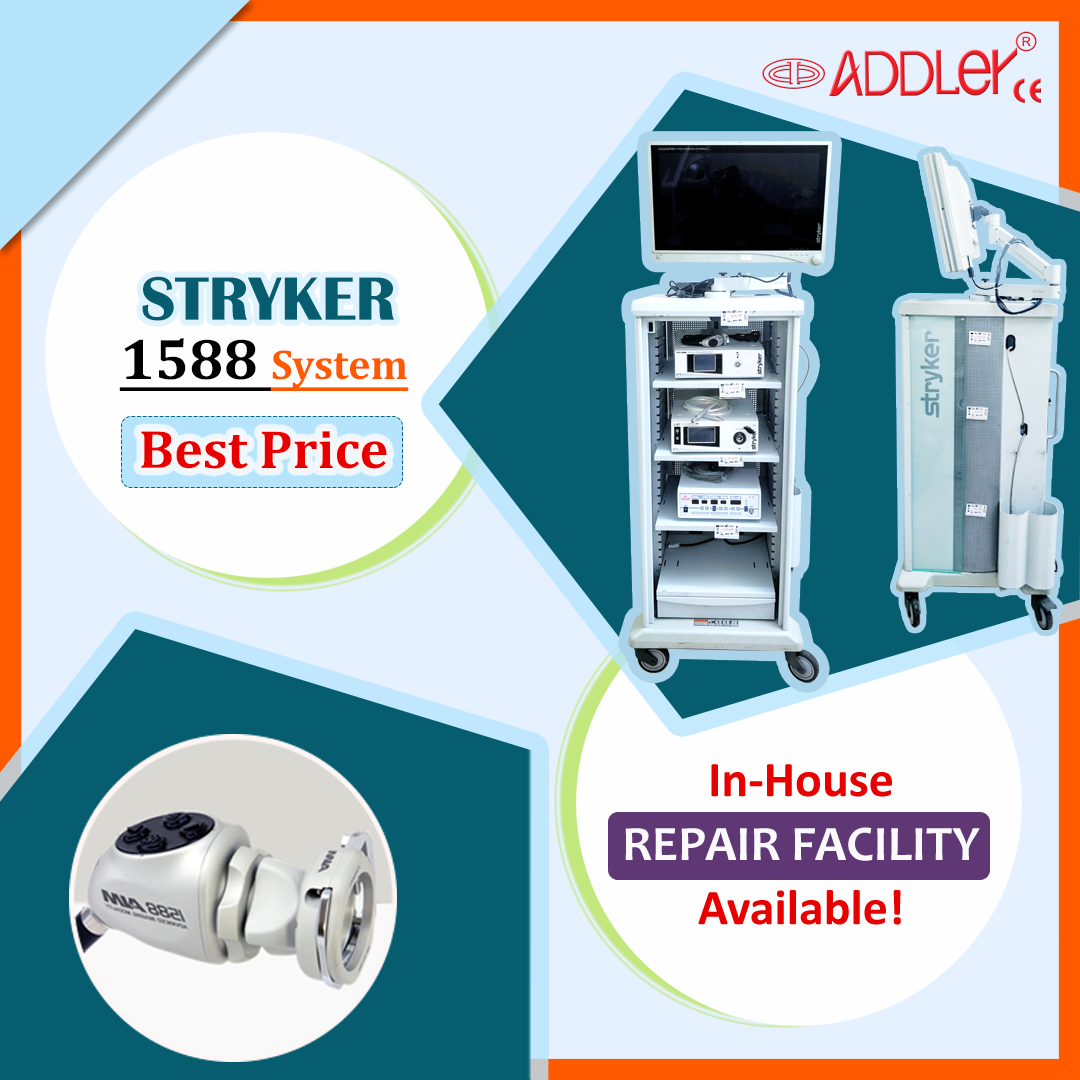 Stryker 1588 Aim Endoscopy Camera System Full Tower.