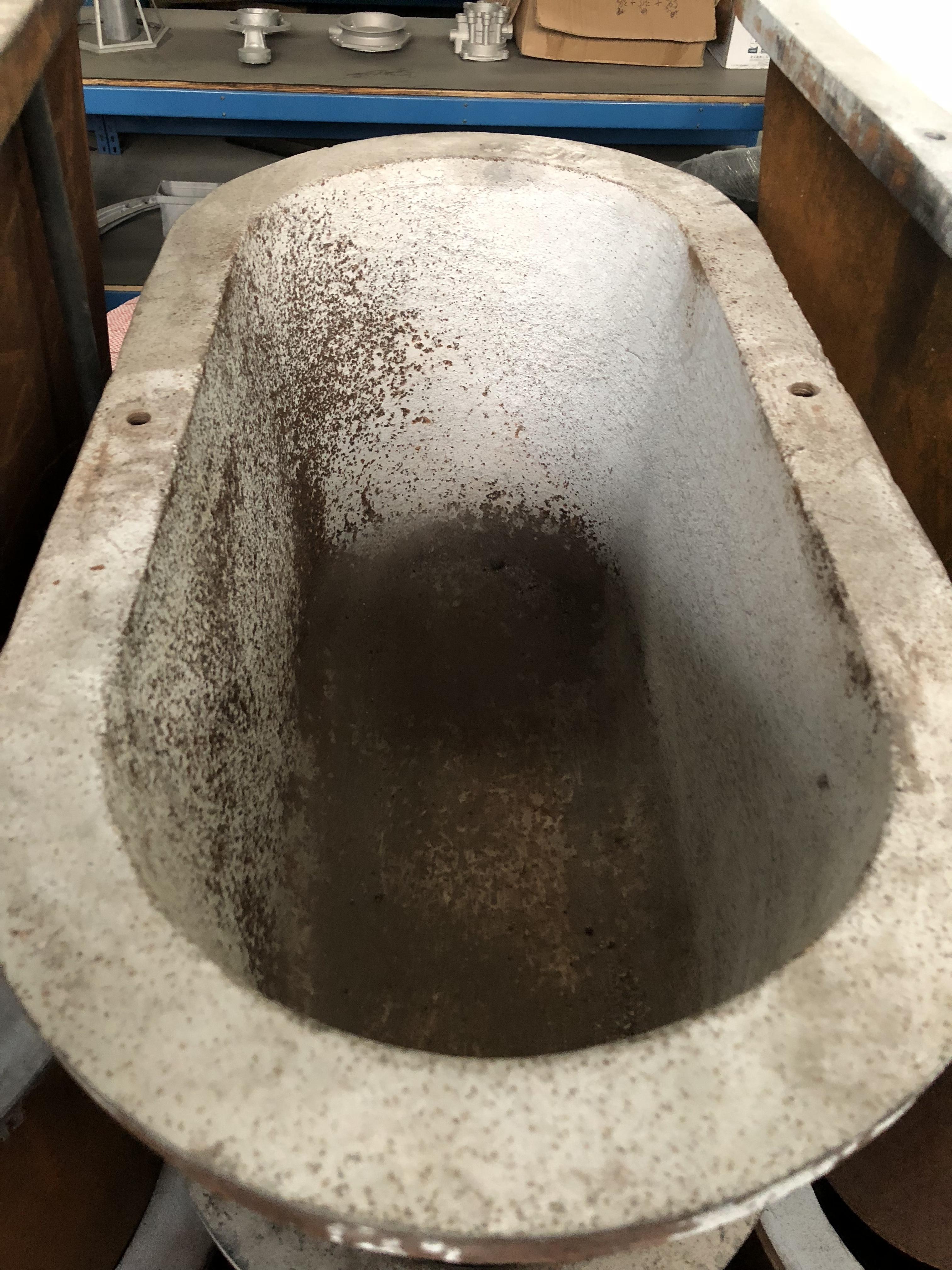Hot Chamber Die Casting Machine Melting Pot