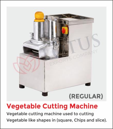 Vegetable Cutting Machine Regular