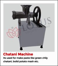 Electric Chatni Machine