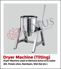 Dryer Tilting Machine