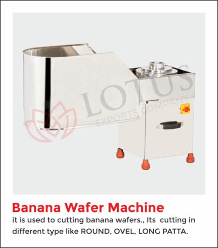 Banana Chips Making Machine