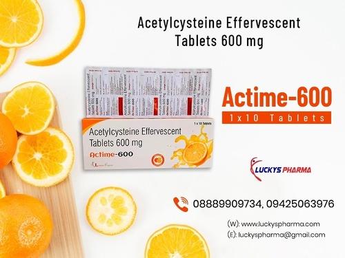 Acetylcysteine Effervescent Tablets