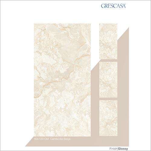 60 X 120 CM Cambodia Beige Glazed Vitrified Tiles