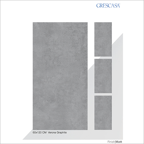 60 X 120 CM Verona Graphite Glazed Vitrified Tiles