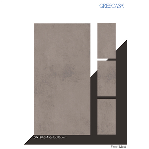 60 X 120 CM Oxford Brown Glazed Vitrified Tiles