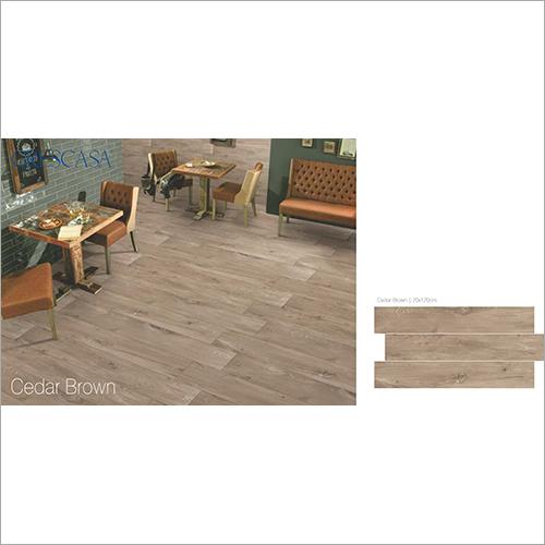 20X120cm Cedar Brown Tiles