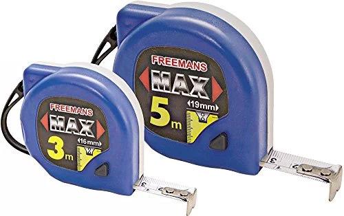 3 MTR Freemans Measuring Tapes