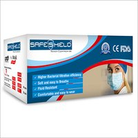 SAFESHIELD 3 Ply Surgical Mask