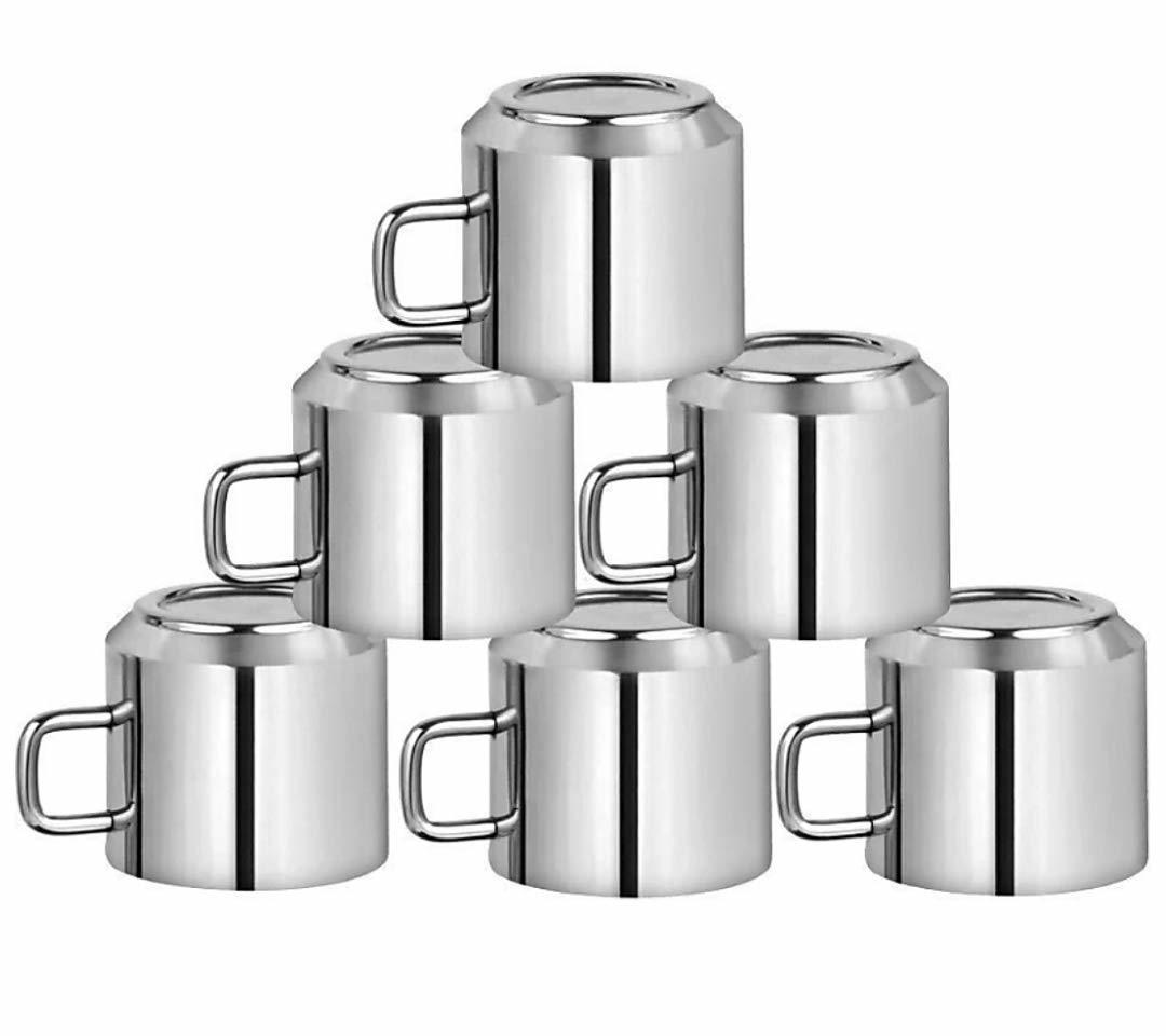 Stainless Steel Coffee Mug Set