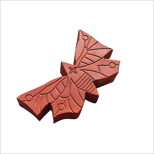 Butterfly Shaped Paver Block