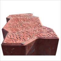 Zig Zag Floor Paver Block