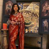 Pure Lichi Silk Saree