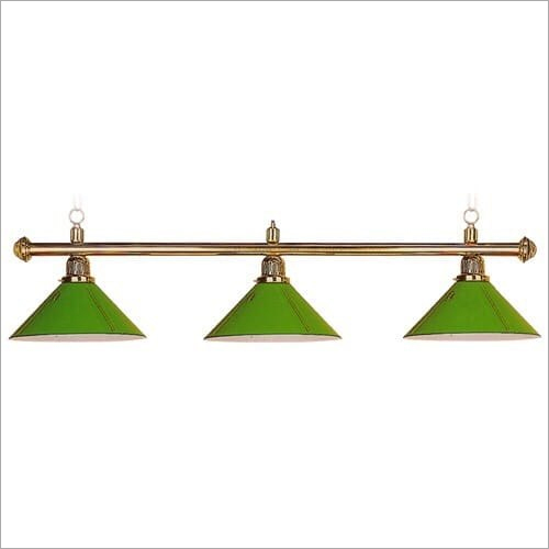 3 Shade Billiard Light Only Holdar