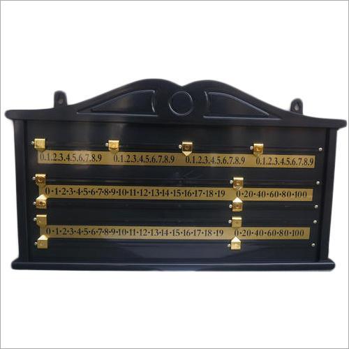 Wooden Snooker Scoreboard