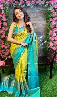 Ladies Bangalore Silk Saree