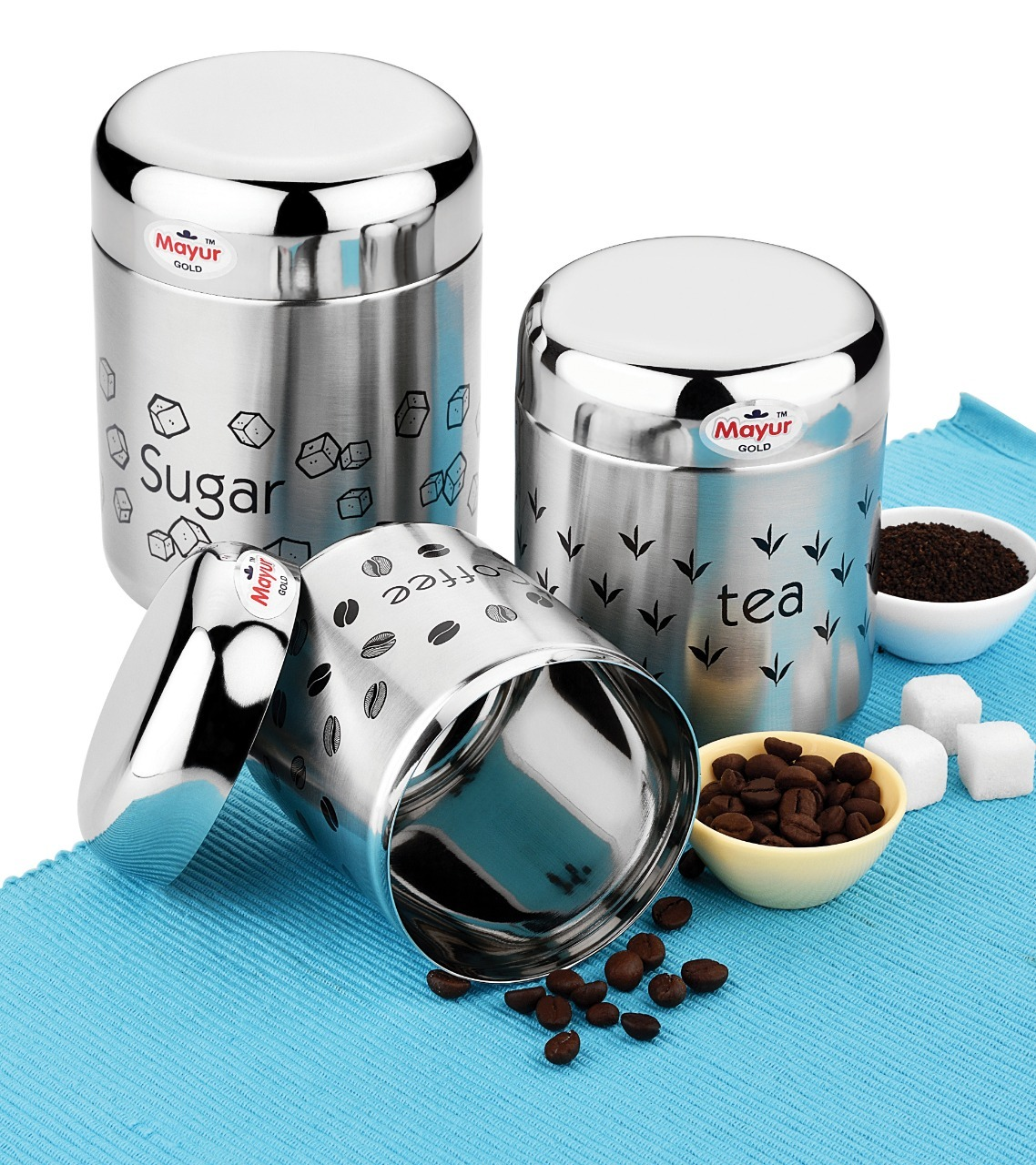 Stainless Steel Food Storage Container Set