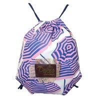10 Oz Washed Canvas Drawstring Backpack