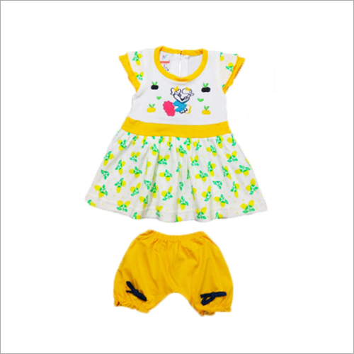Baby Printed Girl Frock And Pant