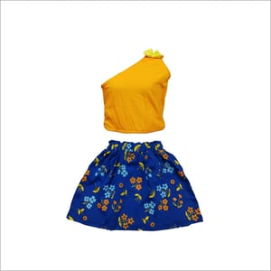 Baby Fancy Girl Top And Skirt