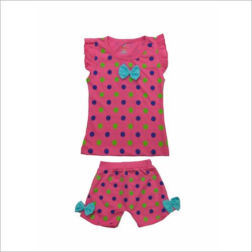 Baby Printed Girl Tops And Pant