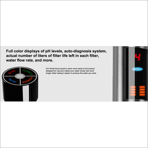 RSB 09 USF Alakine Water Ionizer With Digital Faucet