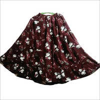 Ladies Printed Skirt