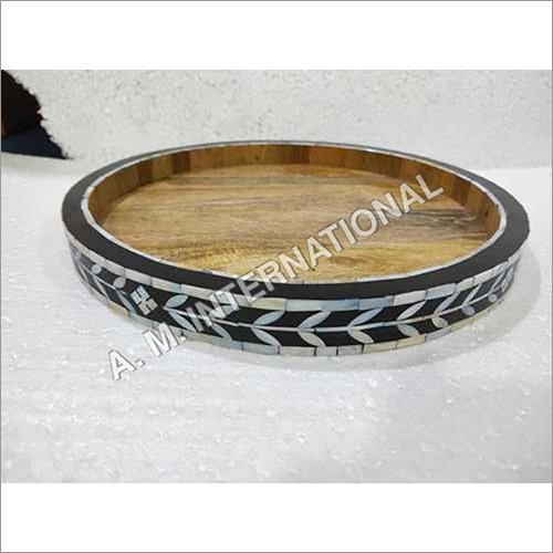 Mother of Pearl Inlay Serving Tray