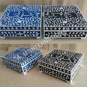 Mother of Pearl Inlay Boxes