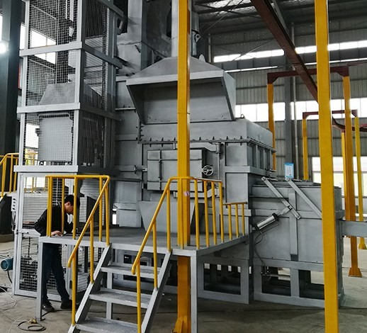 Aluminium Central  Melting And Holding Furnace