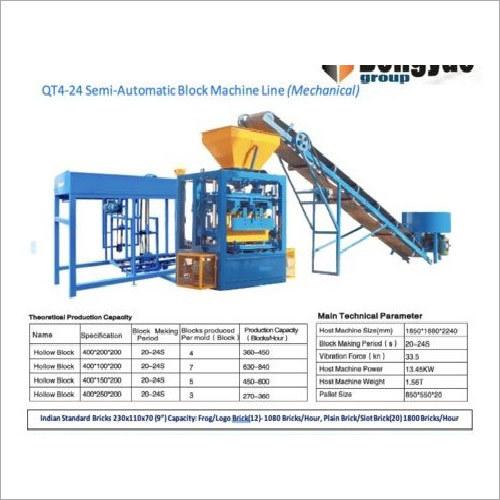 QT4-24 Flyash Brick Machine