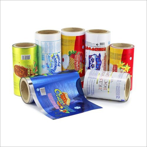 Printed Plastic Packaging Roll