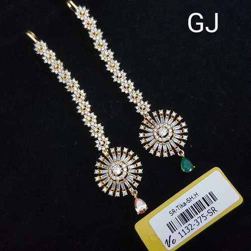 GJ Plated American Diamond Tikka