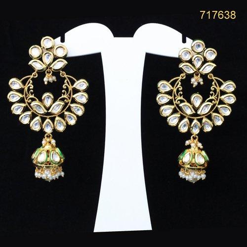 Kundan Stone Earrings